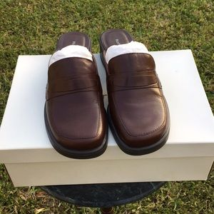 Naturalizar Brown Slip On Mules Size 6.5 NWT